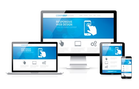Fully responsive multi page websites